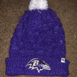 Women's ravens winter hat